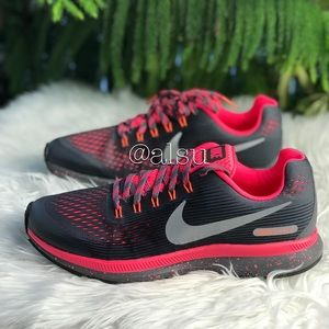 NWT Nike Zoom Pegasus 34 Shield DarkGrey Reflect W